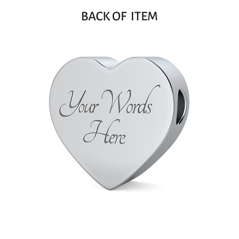 Image of LDS Heart Charm