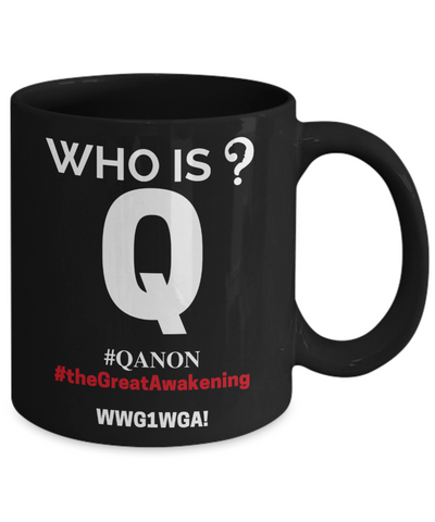Image of Q-Trust the Plan Mug