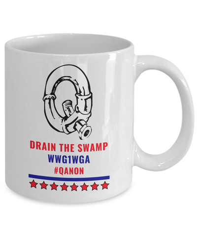 Image of Q Pipe Drain the Swamp Mug