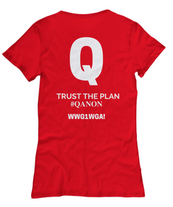 Q - Trust the Plan- WWG1WGA - #QANON