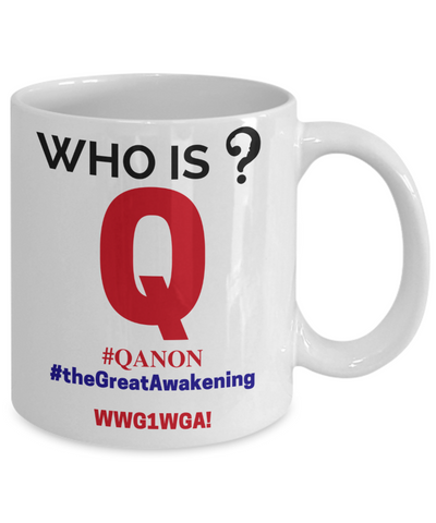 Image of Who is Q? Mug