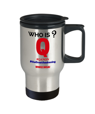 Q-Who is Q? Travel Mug