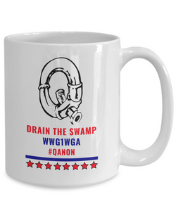 Q Pipe Drain the Swamp Mug