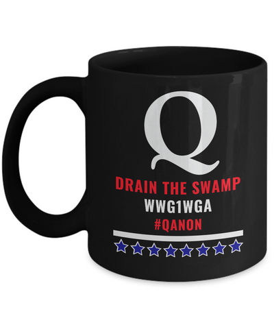 Image of Q Drain the Swamp Mug