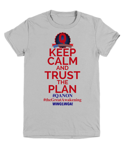 Q Trust the Plan WWG1WGA Qanon The Great Wakening Who is Q? Shirt