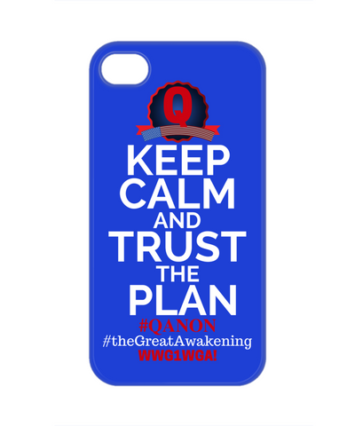 Image of Q-Trust the Plan iPhone Case