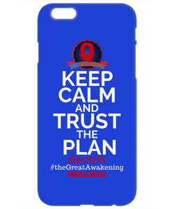 Q-Trust the Plan iPhone Case