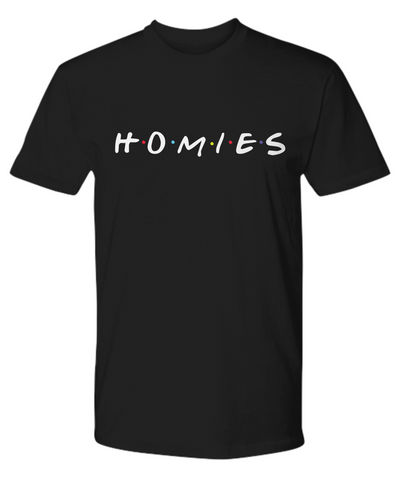 "HOMIES ""Friends"" Style T-Shirt"