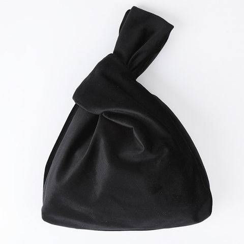 Image of Luxury Vintage Velvet Satin Handbag