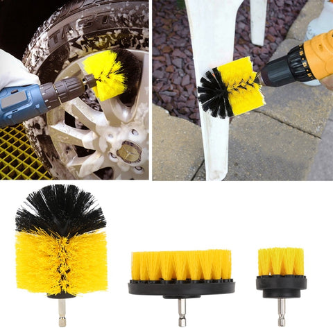Image of Power Scrub Drill Cleaning Brush Attachment Brush