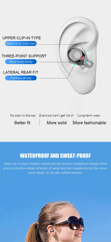 Bluetooth V5.0 Earphone Wireless Earbuds