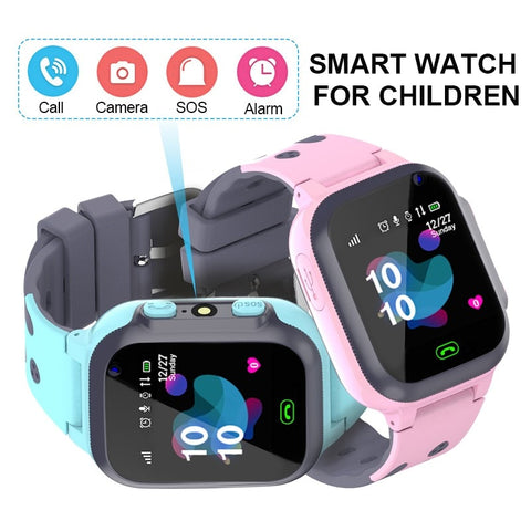 Kids Smart Waterproof Watch with SOS Location Tracker