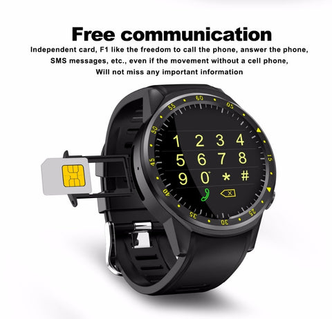 Image of Smart Watch GPS Multi-sport Mode SIM Card Pedometer