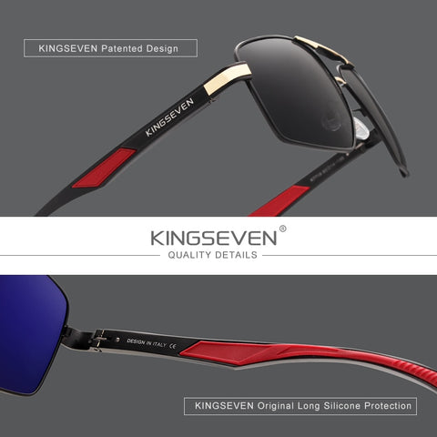 KINGSEVEN Aluminum Men's Polarized Sunglasses