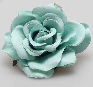 Image of Rose Flower Hair Clip For Bridal Wedding