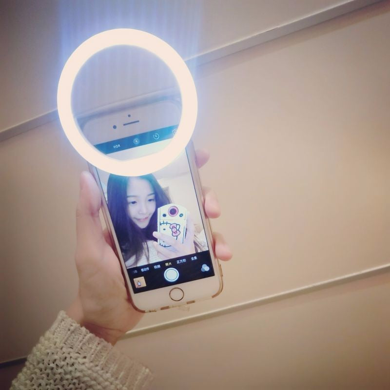 Selfie LED Light Ring for Phone