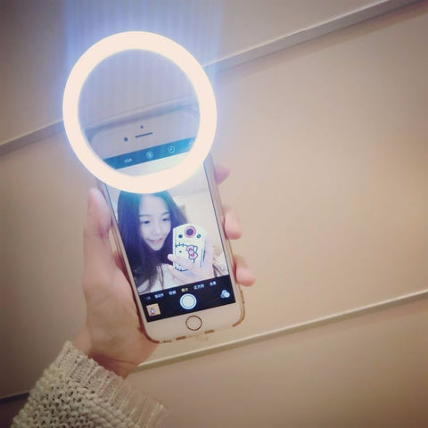 Image of Selfie LED Light Ring for Phone