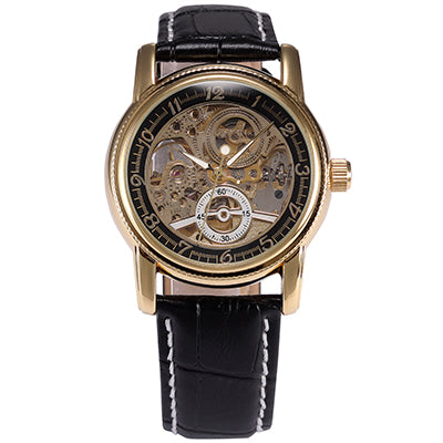 Luxury Skeleton Mechanical Mens Watch