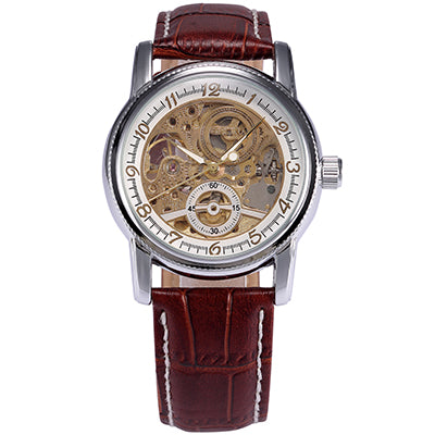 Image of Luxury Skeleton Mechanical Mens Watch