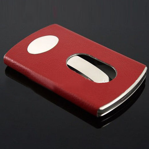 Image of Stainless Steel Business Card Holder
