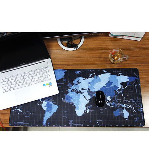 Image of Gaming World Map XL Rubber Mouse Pad