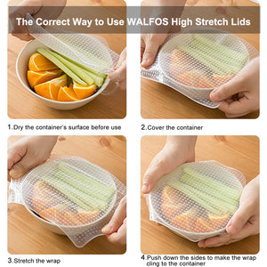 Reusable Silicone Saran Wrap