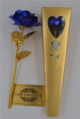 Image of 24k Gold Foil Plated Rose