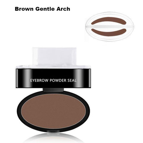 Image of Professional Perfect Eyebrow Powder & Stamp Set