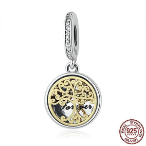Family Forever Tree Dangle Charm