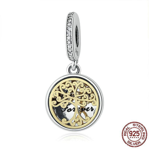 Image of Family Forever Tree Dangle Charm