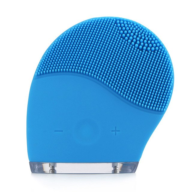 Ultrasonic Facial Spa Deep Cleansing Silicone Massager Brush