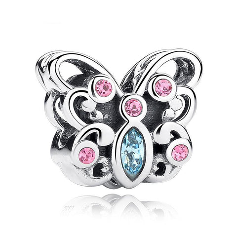 Butterfly Charm Bead
