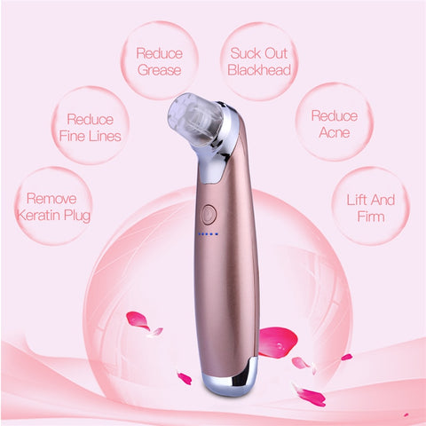 Image of Facial Skin Care Microdermabrasion Beauty Machine with Intense Pulse Light (IPL) Therapy