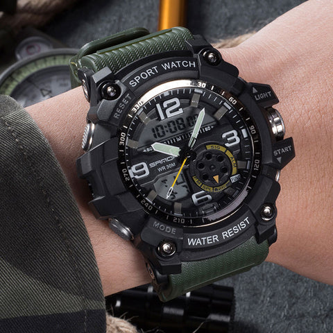 Military LED Sports Watch