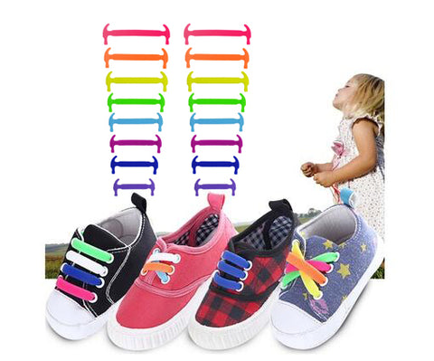 Image of Children No Tie Shoelaces