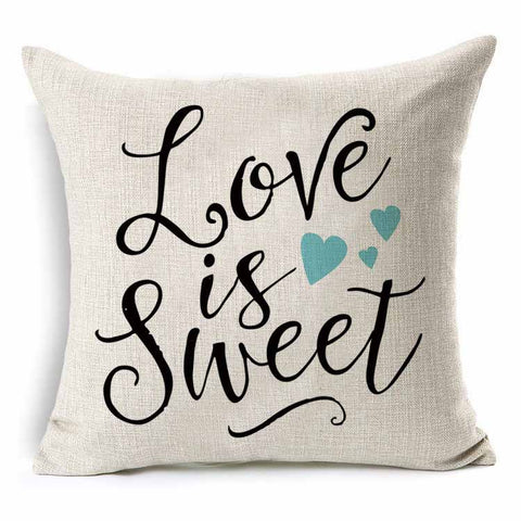 Decorative Woven Linen Pillow Cover