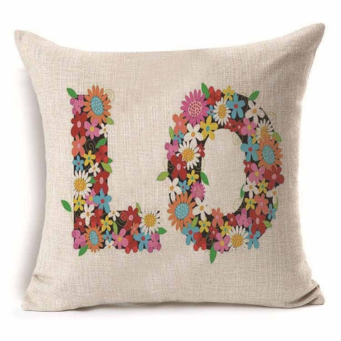 Image of Decorative Woven Linen Pillow Cover