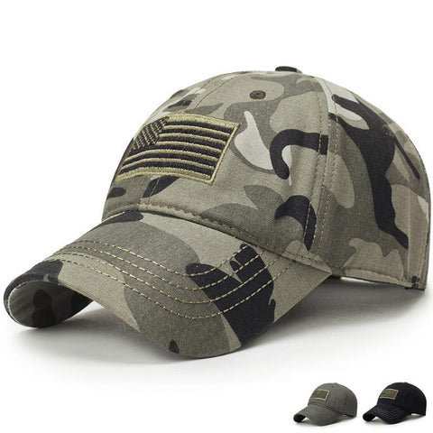 USA Flag Camouflage Baseball Cap