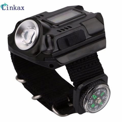 Image of Tactical Rechargeable Flashlight Tactical Watch