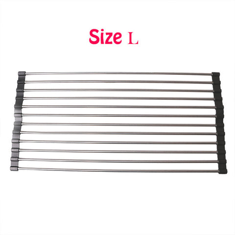 Image of Foldable Kitchen Sink Drain Rack