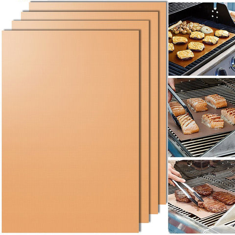 Image of Copper Chef BBQ Grill Bake Nonstick Grill Mat