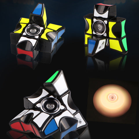 Fully-Functional Magic Cube Fidget Spinner