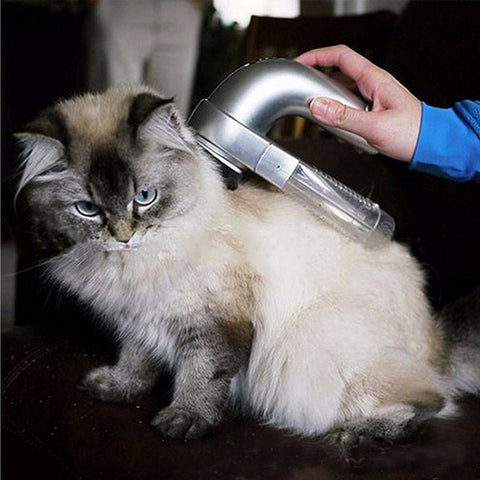 Image of Portable Pet Vacuum Groomer