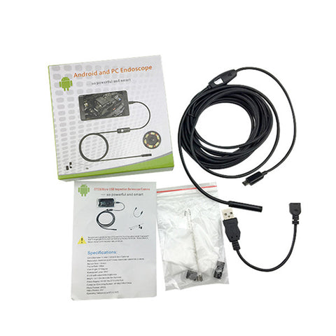 Image of Smartphone Waterproof Endoscope Inspection Camera