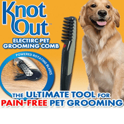 Image of Knot Out Pet Grooming Comb