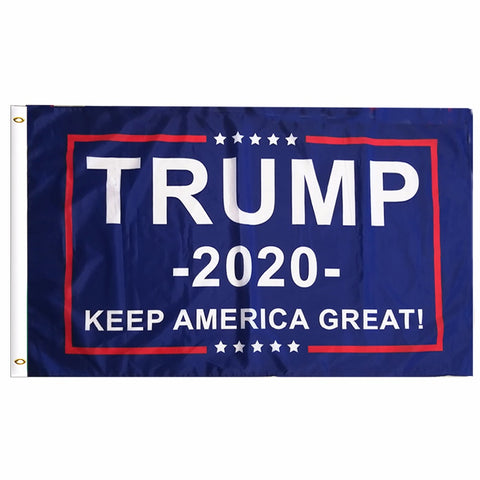 Image of Trump 2020 Flag Double Sided Printed - Keep America Great!