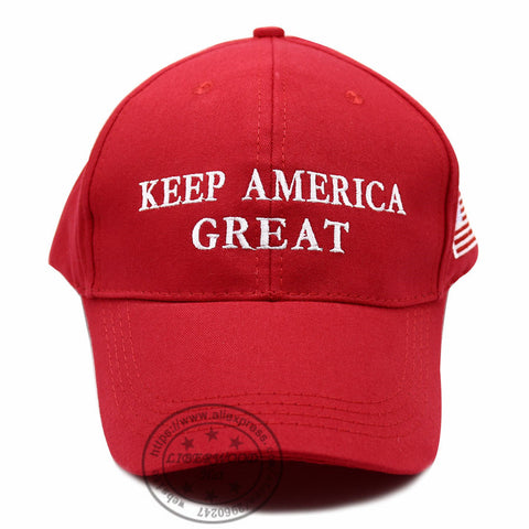 Image of Keep America Great USA Flag Baseball Hat