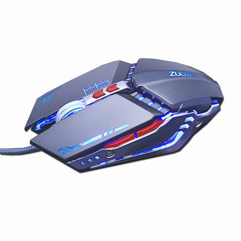 Image of Pro Gamer DPI Adjustable USB Optical LED Gaming Mouse