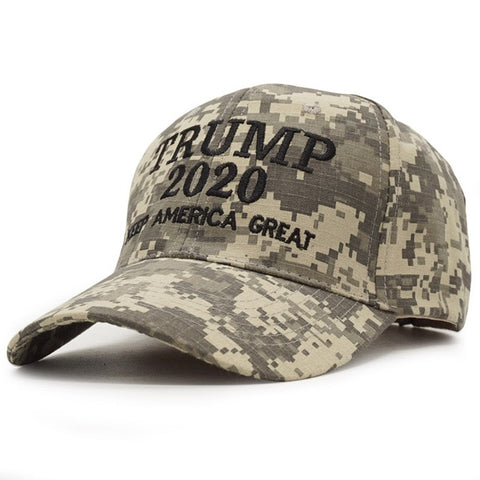 Image of Trump 2020 Camouflage Baseball Cap