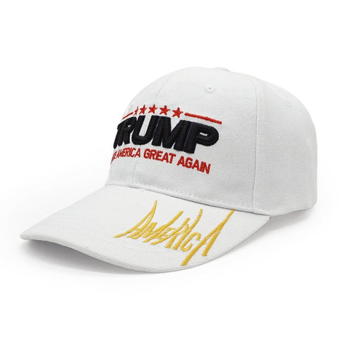 Image of New Donald Trump 2020 Solid Baseball Cap